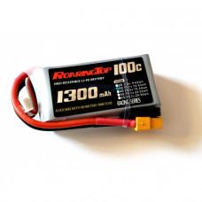 25C 1300 mAh 3S with DEANS/XT60 Plugs