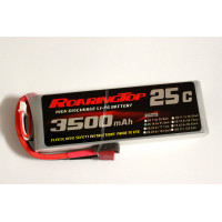 25C 3500 mAh 4S with Deans or XT60 Plugs