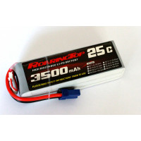 25C 3500 mAh 6S with EC5 / XT60 Plugs