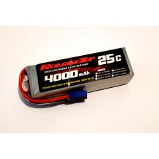 25C 4000 mAh 6S with EC5/XT60