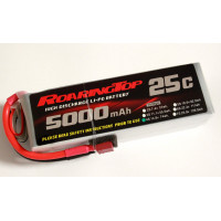 25C 5000 mAh 4S with Deans Plugs