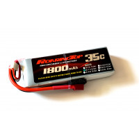 35C 1800 mAh 3S with Deans or XT60 Plug