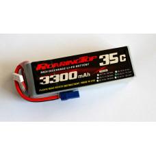 35C 3300 mAh 6S with EC5 Pulg