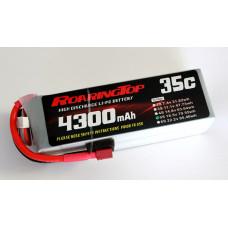 35C 4300 mAh 5S with EC5 Plugs