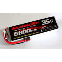 35C 5800 mAh 4S with Deans Plugs
