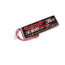 35C 3300 mAh 3S with XT60/EC3/Deans/4mm banana Plugs