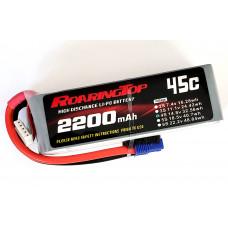 45C 2200 mAh 4S with EC3 Plugs