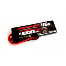 45C 4000mAh 2S1P (Hard Case) with Deans Plug