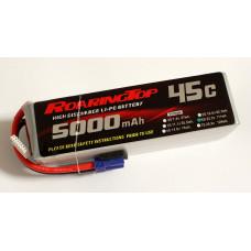 45C 5000 mAh 6S with EC5 Plugs