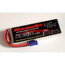 45C 3300 mAh 6S with EC5 Plugs