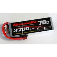 70C 3700 mAh 3S with EC5 Plugs