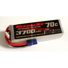 70C 3700 mAh 6S with EC5 Plugs
