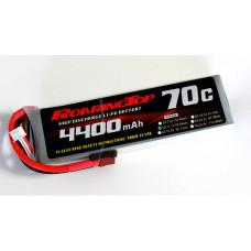70C 4400 mAh 3S with EC5 Plugs