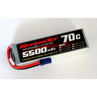 70C 5500 mAh 4S with EC5 Plug