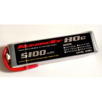 80C 5100 mAh 3S