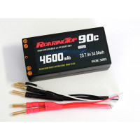90C 4600 mAh  2S Shorty Pack with Deans Plug