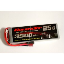 25C 3500 mAh 4S with Deans Plugs