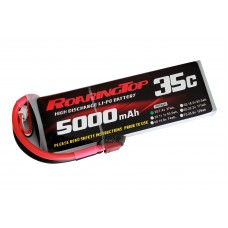 35C 5000 mAh 2S with Deans Plugs