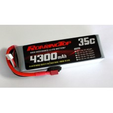 35C 4300 mAh 3S with Deans Plugs