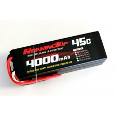 45C 4000mAh 4S1P (Hard Case) with Lead Wires Out and Bare End