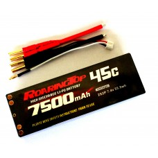 45C 7500 mAh  2S2P (Hard Case Type 1)