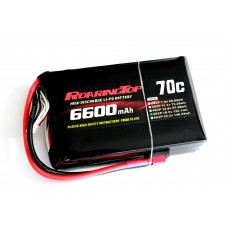 70C 6600 mAh 5S BMV Style Saddle Packs weith EC5 Male plugs